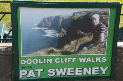 Doolin Cliff Walks with Pat Sweeney at the Cliffs of Moher