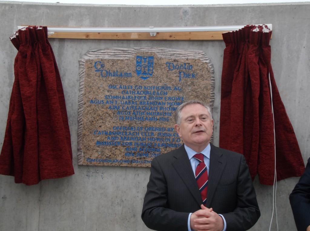 Howlin opens Doolin Pier