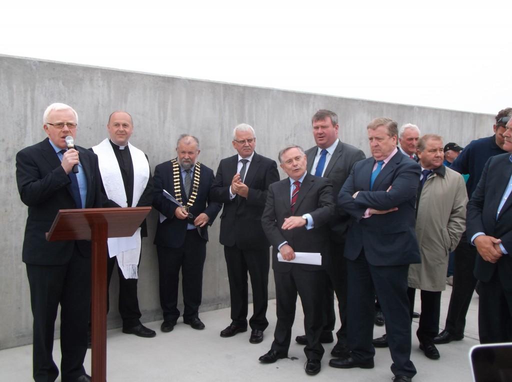 Tom Tiernan Clare Co. Council at Doolin Pier