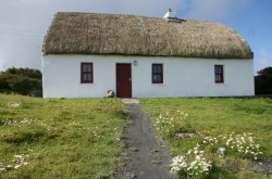 Aran Islands thatched cottage