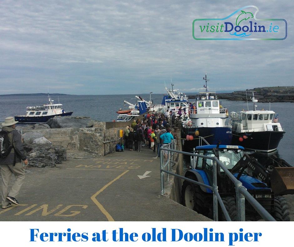ferries at old doolin pier